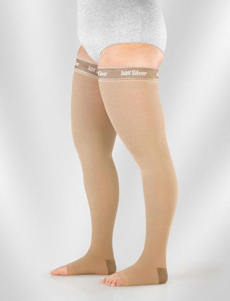 κάλτσες λεμφοιδήματος dynamic silver juzo - medapp
