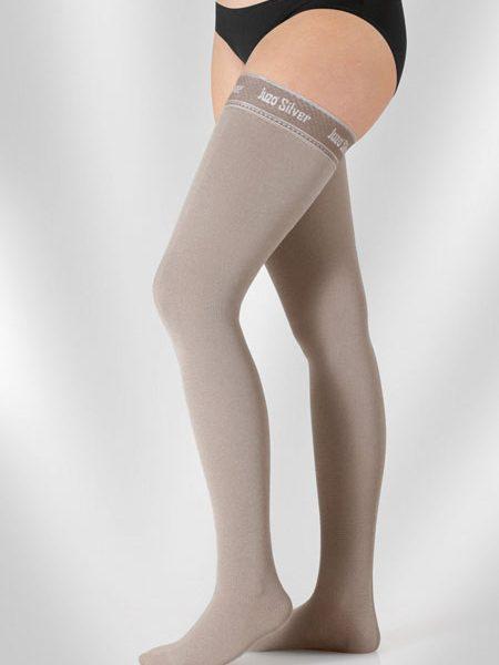 κάλτσες λεμφοιδήματος juzo expert silver
