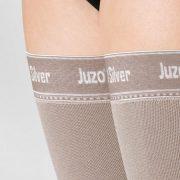 κάλτσες λεμφοιδήματος juzo expert strong silver